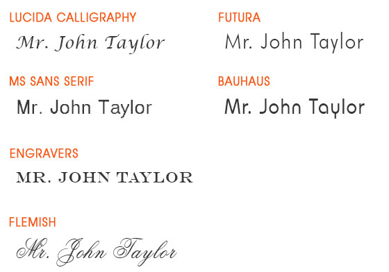 Tuscany Leather engraving fonts